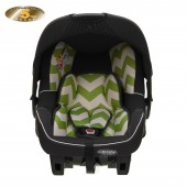 Obaby Group 0+ Zeal Infant Carrier Car Seat - ZigZag Lime