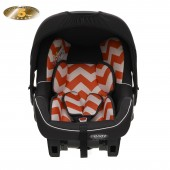 Obaby Group 0+ Chase Infant Carrier Car Seat - ZigZag Orange