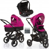 ABC Design Cobra 3 in 1 Travel System & Carrycot - Black / Grape