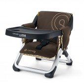 Concord Lima Folding Travel Chair - Walnut Brown
