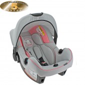 Obaby Group 0+ Infant Carrier Car Seat - B Is For Bear Pink