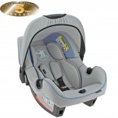 Obaby Group 0+ Infant Carrier Car Seat - B Is For Bear Blue