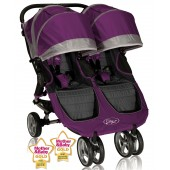 Baby Jogger City Mini Double Stroller - Purple
