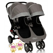 Baby Jogger City Mini Double Stroller - Stone