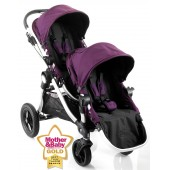 Baby Jogger City Select Tandem Stroller Pushchair - Amethyst