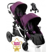 Baby Jogger City Select Tandem Stroller - Amethyst