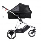 Phil & Teds Dash Snug Carrycot Sun Cover - Black