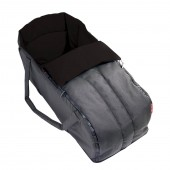 Phil & Teds DOT / Sport / Dash Cocoon Soft Carrycot - Flint