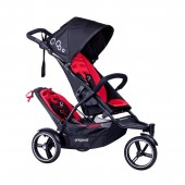 Phil & Teds DOT Pushchair (With Double Kit) - Chilli