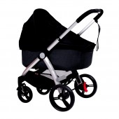 Mountain Buggy Cosmopolitan Bassinet Sun Cover - Black