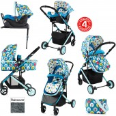 Cosatto Wish 2 in 1 Travel System - My Space