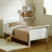 Saplings Poppy Junior Toddler Bed - White