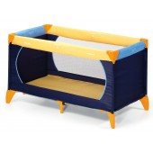 Hauck Dream n Play Travel Cot / Playpen - Blue / Yellow