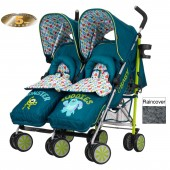 Obaby Disney Twin Stroller - Monsters Inc