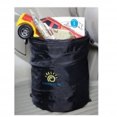 Sunshine Kids Pop Up Trash Bin - Black